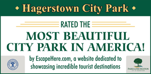 Hagerstown City Park rated the most beautiful city park in America