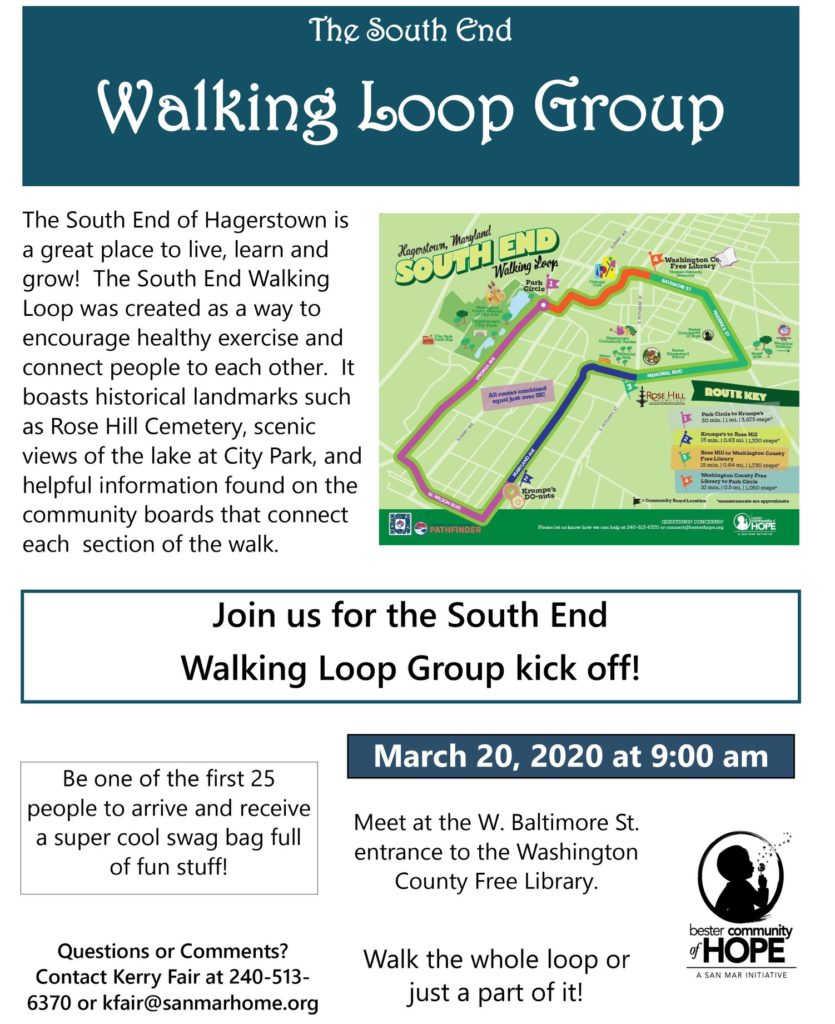 Bester Walk flyer